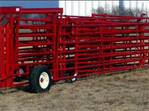 portable cattle corral 2